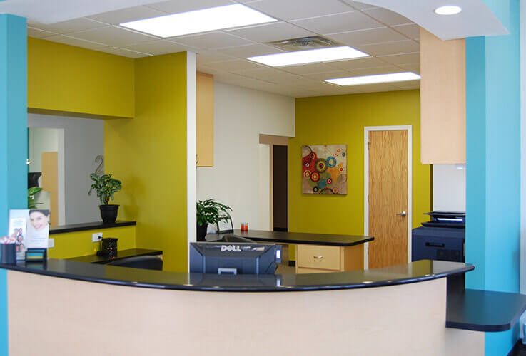 Welcoming Wichita Falls dental office front desk