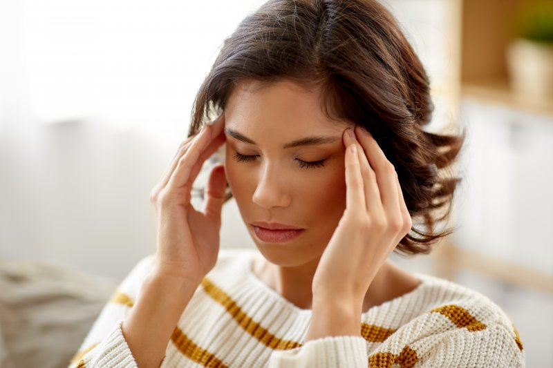 Woman experiencing chronic stress